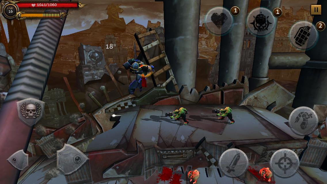 Warhammer 40, Regicide на Андроид скачать торрент на русском