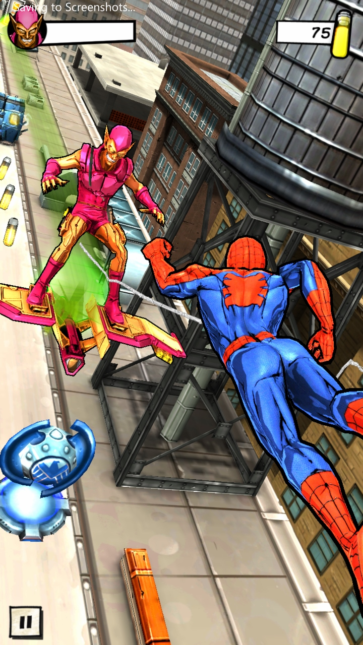 Spider man unlimited game suits