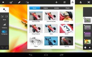 Фотошоп для телефона андроид