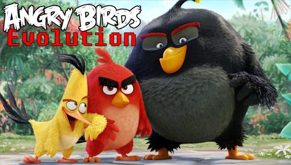 Злые птицы эволюция